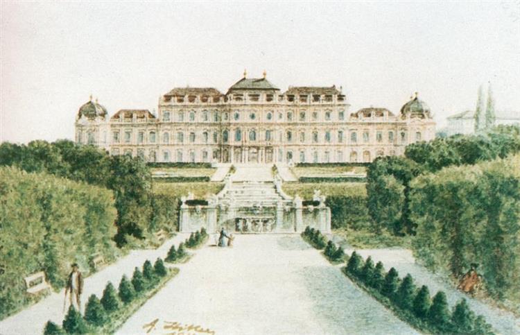 Schloss Belvedere, Wien - Adolf Hitler