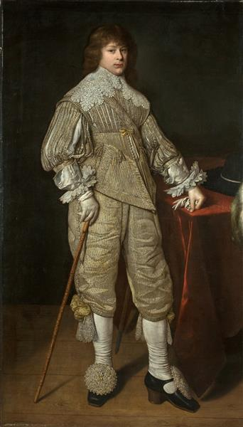 Portrait of Prince Janusz Radziwiłł, 1632 - David Bailly