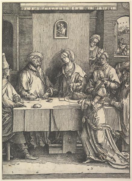 Salome with the Head of John the Baptist, c.1514 - Lucas van Leyden