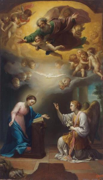 The Annunciation, c.1767 - Anton Raphael Mengs