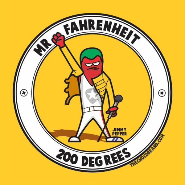 Mr. Fahrenheit, 2017 - Marcelo Azeva