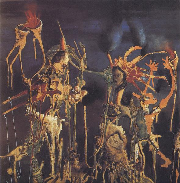 Vegetal Puppets, 1938 - Remedios Varo