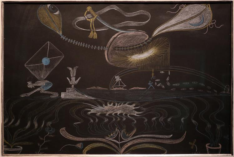 Cadavre Exquis, 1930 - Valentine Hugo
