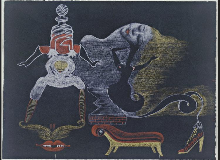 Cadavre Exquis, 1933 - Valentine Hugo