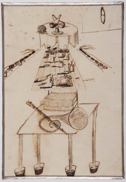 Cadavre Exquis (Exquisite Cadaver), 1932 - Valentine Hugo
