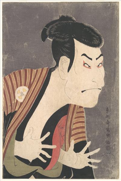 Kabuki Actor Ōtani Oniji III as Yakko Edobei, 1794 - Tōshūsai Sharaku