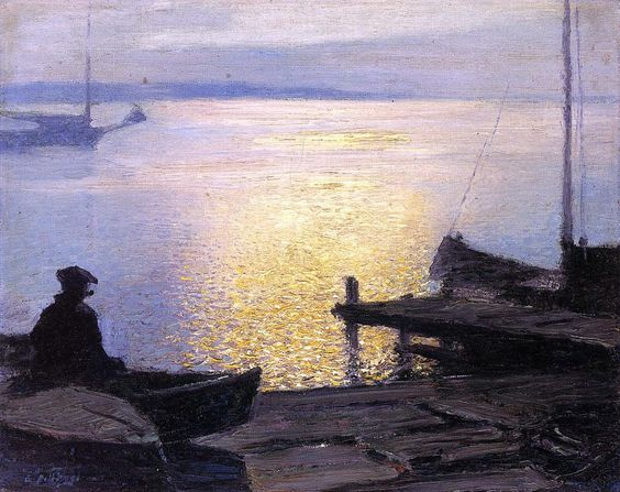 Along the Mystic River - Edward Henry Potthast