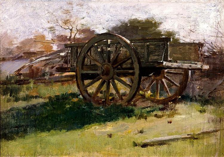 Cart, Nantucket, 1882 - Теодор Робінсон