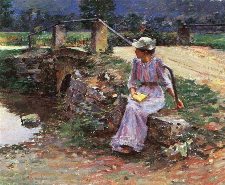 La débácle, 1892 - Теодор Робинсон