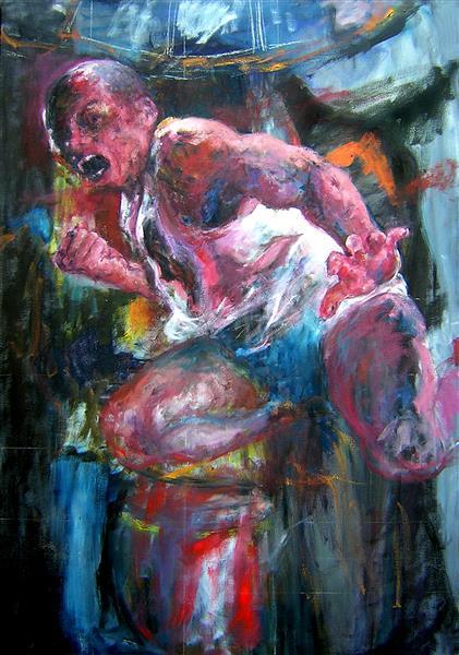Figure of fight, 2006 - Carmen Delaco