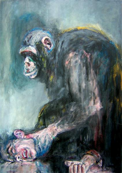 The Man & the Ape, 2006 - Carmen Delaco