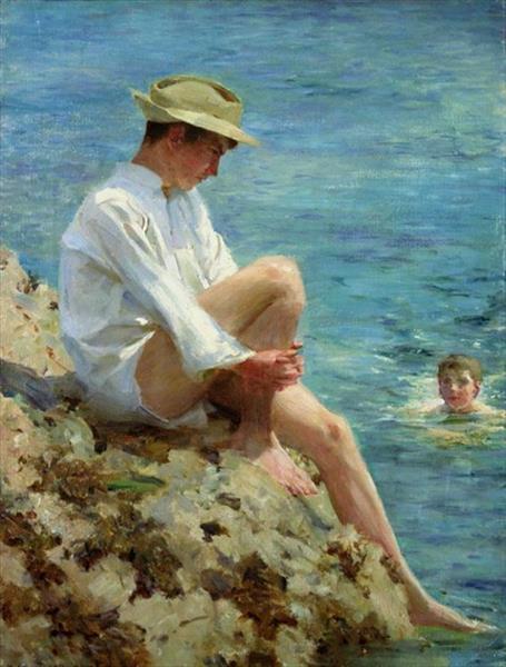 Boys Bathing, 1908 - Henry Scott Tuke