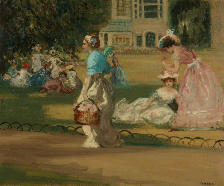 The Gardener's Daughter, 1903 - Charles Conder