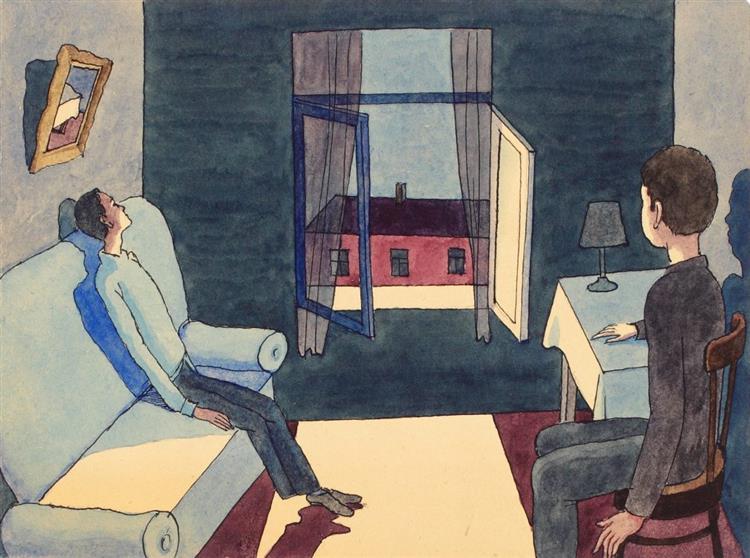 Night Talk. From the Album 'Actors', 1996 - Viktor Pivovarov