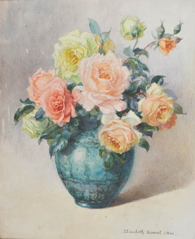 Les Roses - Elisabeth Sonrel