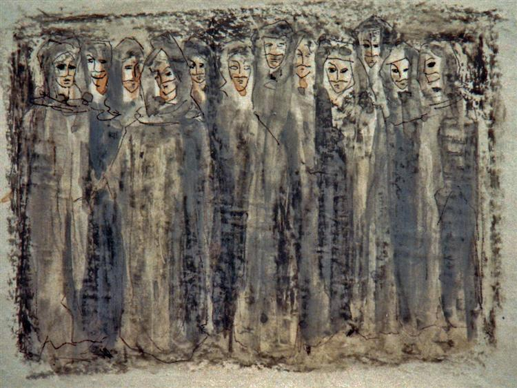 """""""Dante:The Divine Comedy""""  (Chorus), 1969 - Rudolf Láng"""