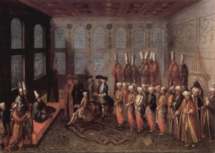 The Sultan's concert, 1747 - Шарль Андре Ван Лоо