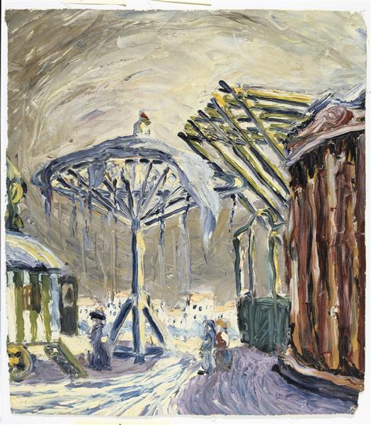 Rummelplatz. Fair Grounds, 1914 - Вальтер Граматте