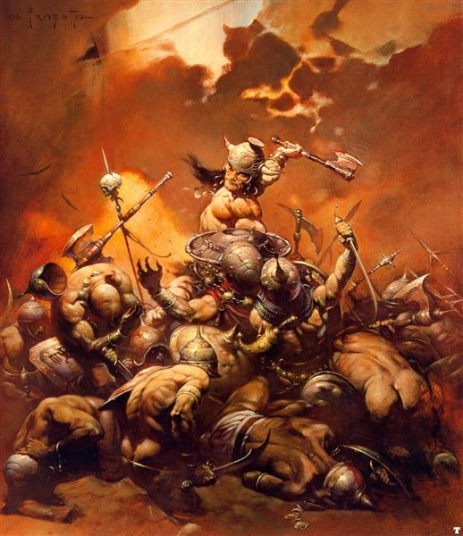 The Destroyer, 1971 - Frank Frazetta