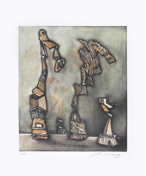 Las torres de Babel - José Luis Cuevas