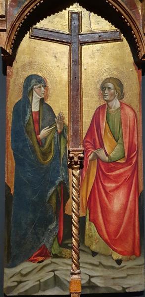 A Virgem Maria e S. João Evangelista, 53 - Álvaro Pires de Évora