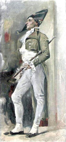 Un Elegant Del Temps Del Directori, 1897 - Joan Brull