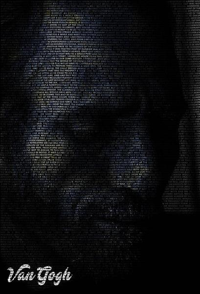 Van Gogh Thoughts, 2019 - 2020 - Muntadher Saleh