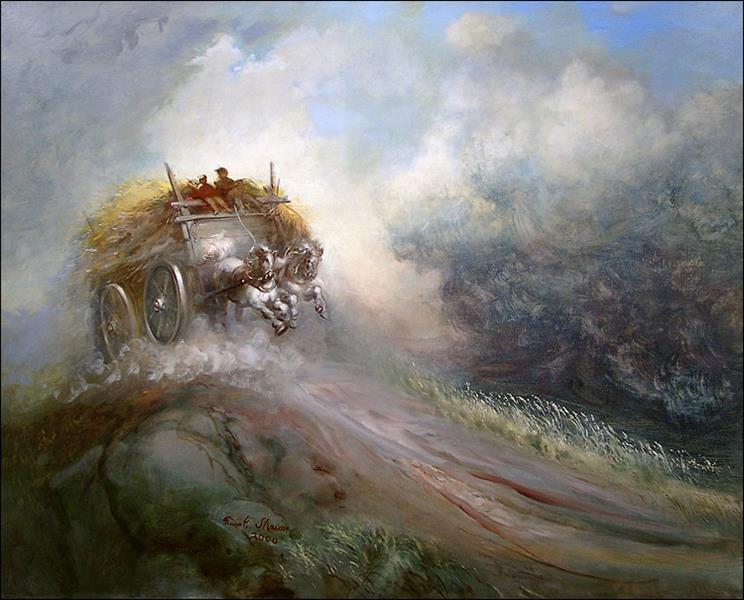 Before the Storm, Nova Scotia, 1951, 2000 - Frank Mason