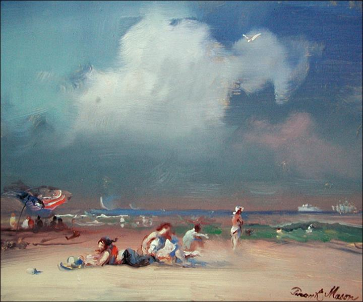 The Bathers, Block Island, 2002 - Frank Mason