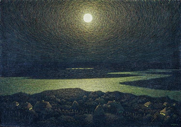 Night, 1981 - Ivan Marchuk