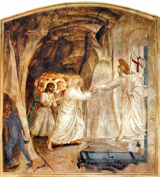 Christ in Limbo, 1441 - 1442 - Fra Angelico