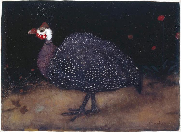 Пuineafowl, 1917 - Jan Mankes