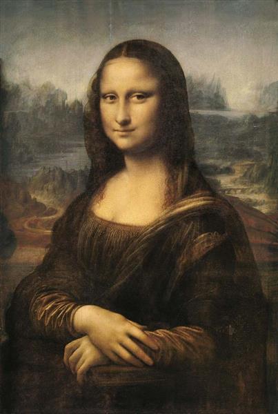 蒙娜麗莎的微笑, c.1503 - c.1519 - 達文西