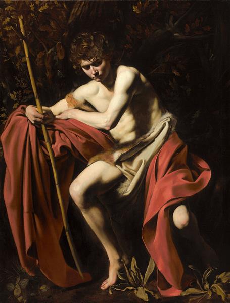 John the Baptist, 1604 - Caravaggio
