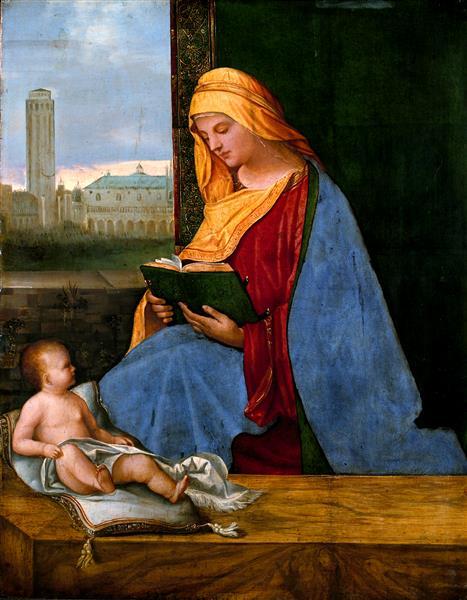 Virgin and Child (The Tallard Madonna), c.1510 - Giorgione