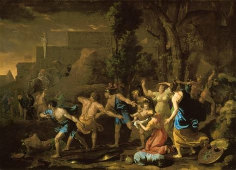 The Saving of the Infant Pyrrhus, 1634 - Nicolas Poussin