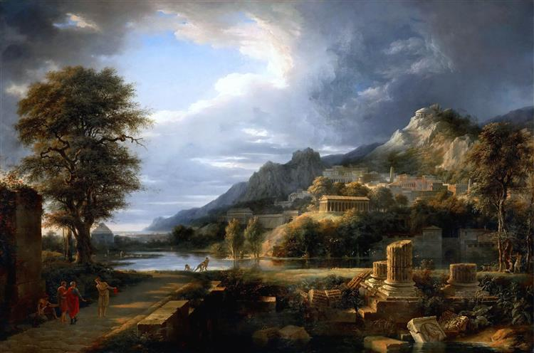 The Ancient City of Agrigento, 1787 - Pierre-Henri de Valenciennes