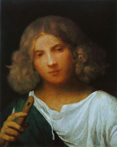 Boy with flute, 1508 - Giorgione