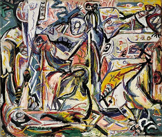 Circumcision January, 1946 - Jackson Pollock