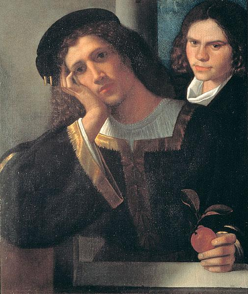 Double Portrait, 1502 - Giorgione