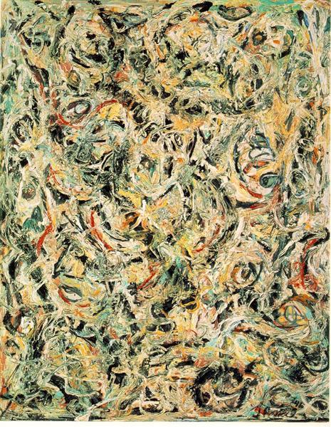 Eyes in the Heat, 1946 - Jackson Pollock