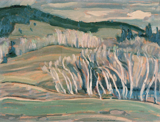 Spring, Caribou Country, 1949
