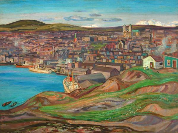 St. John's, Newfoundland, 1951