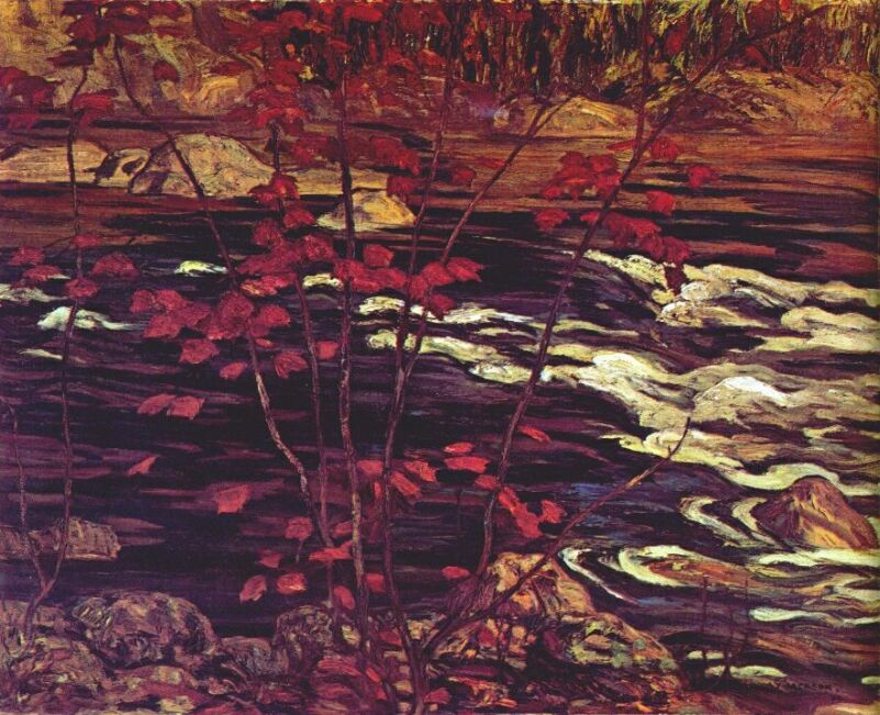 The Red Maple, 1914