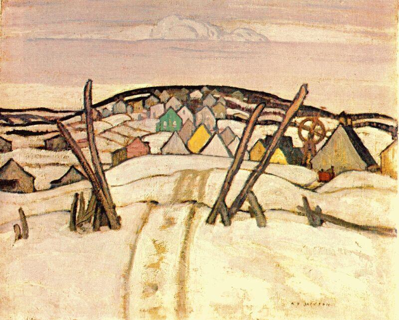 The Winter Road, Quebec, 1921