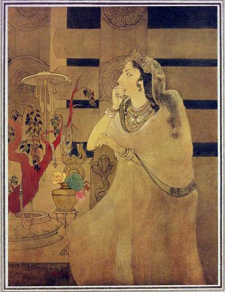 Asoka's Queen, 1910 - Abanindranath Tagore