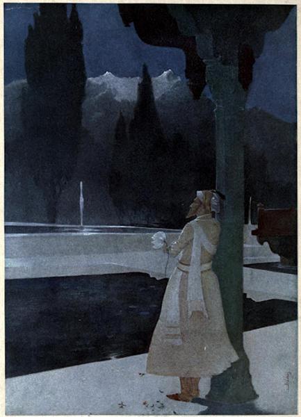 Night at the Shalimar - The Emperor Shah Jahan - Abanindranath Tagore