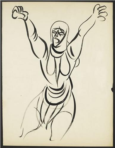 Lament/Nomads, 1940 - Abidin Dino