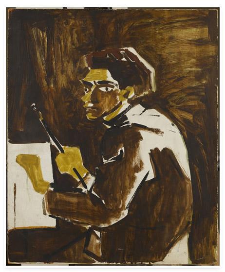 Self-Portrait, 1973 - Abidin Dino