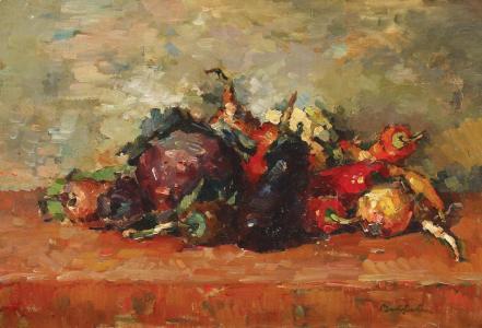 Still Life With Vegetables - Adam Baltatu